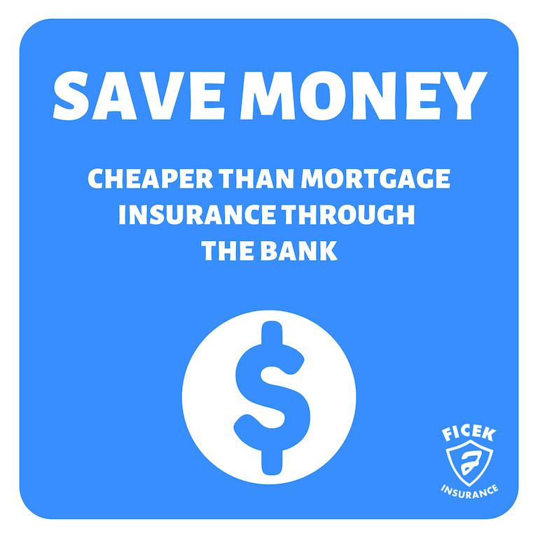 Cheaper than Mortgage Insurance Through the Bank