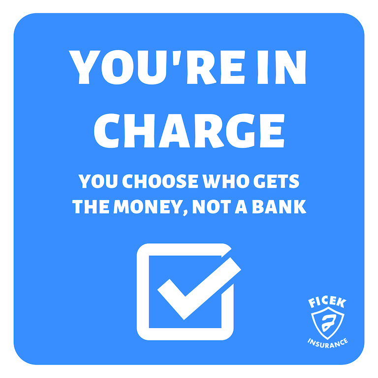 You Choose Who Gets the Money, Not a Bank
